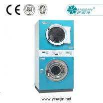 double deck washer extractor dryer