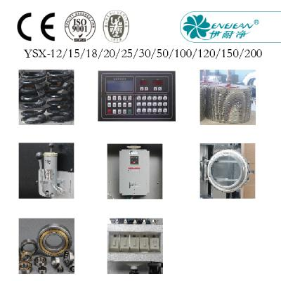 YSX-50 Components and Damageable Parts