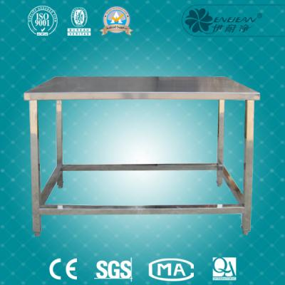 Single stainless steel table